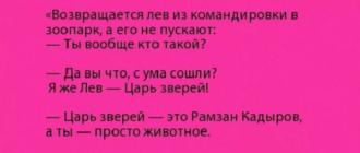Анекдот Про Льва