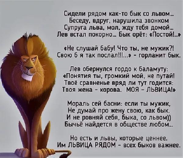 анекдоты про льва, львов АН